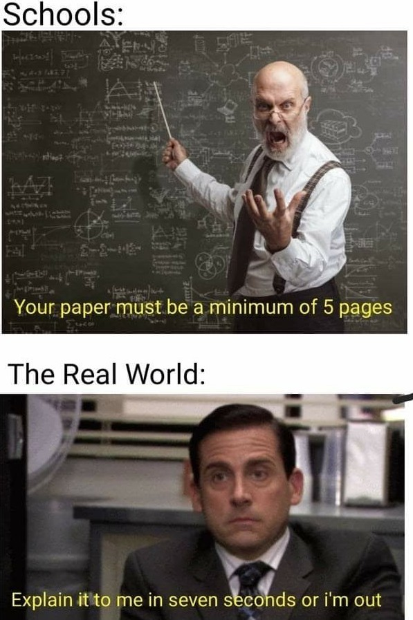 Those damn research papers! - meme