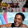 Ronaldinho te trollou
