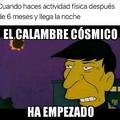 Calambre Cósmico