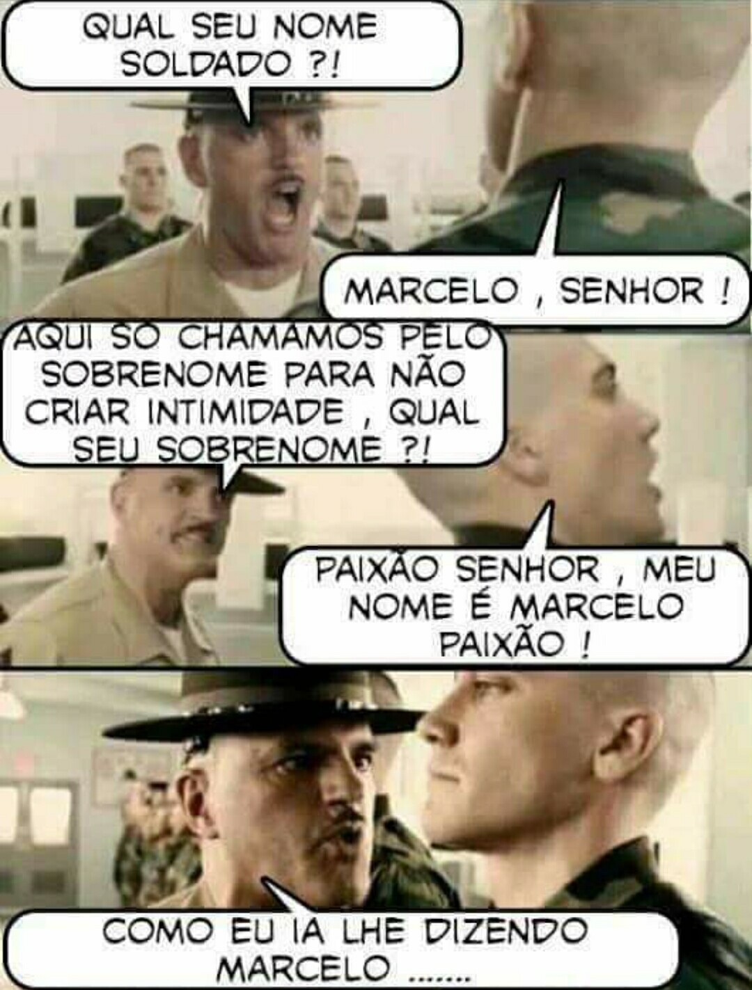 Paixão - meme