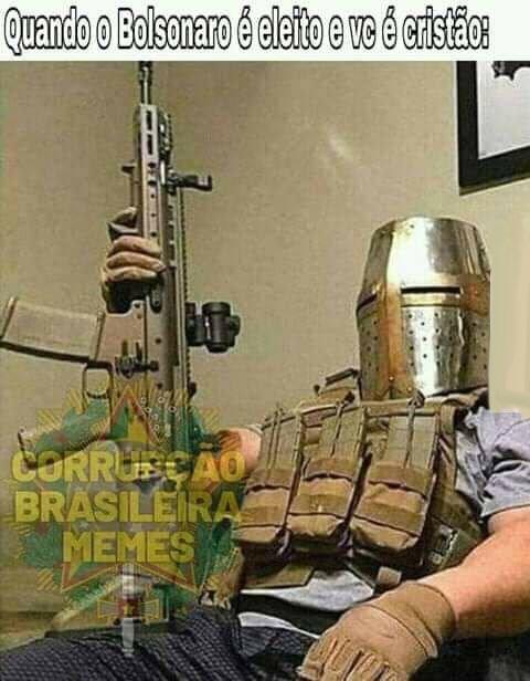 Agora vamos conquistar Jerusalem - meme