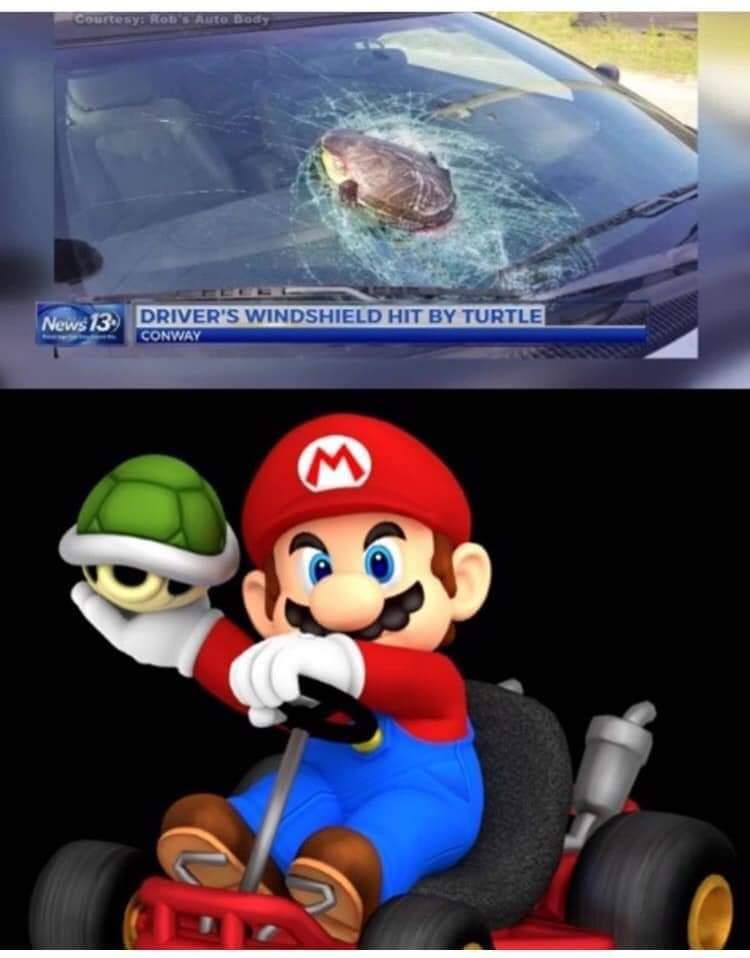 D*mmit Mario! - meme