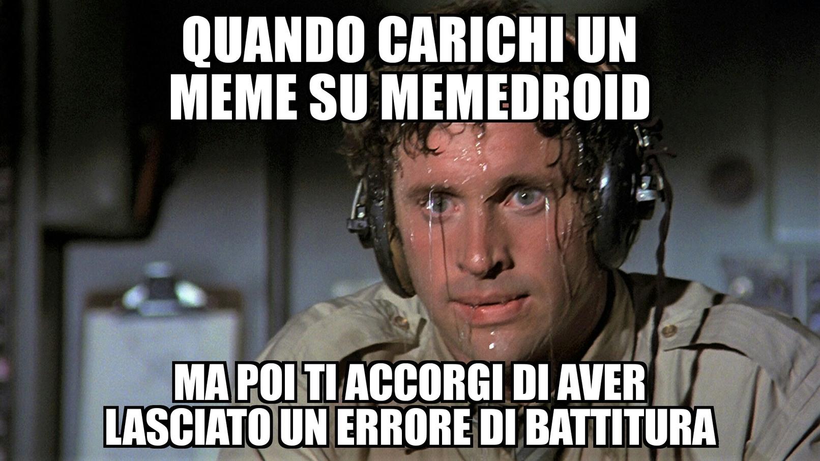 Errore di battitura - meme