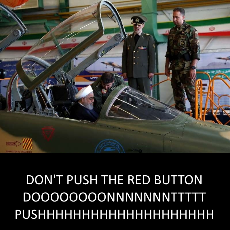dont push the red button - meme