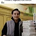 Insira a pizza