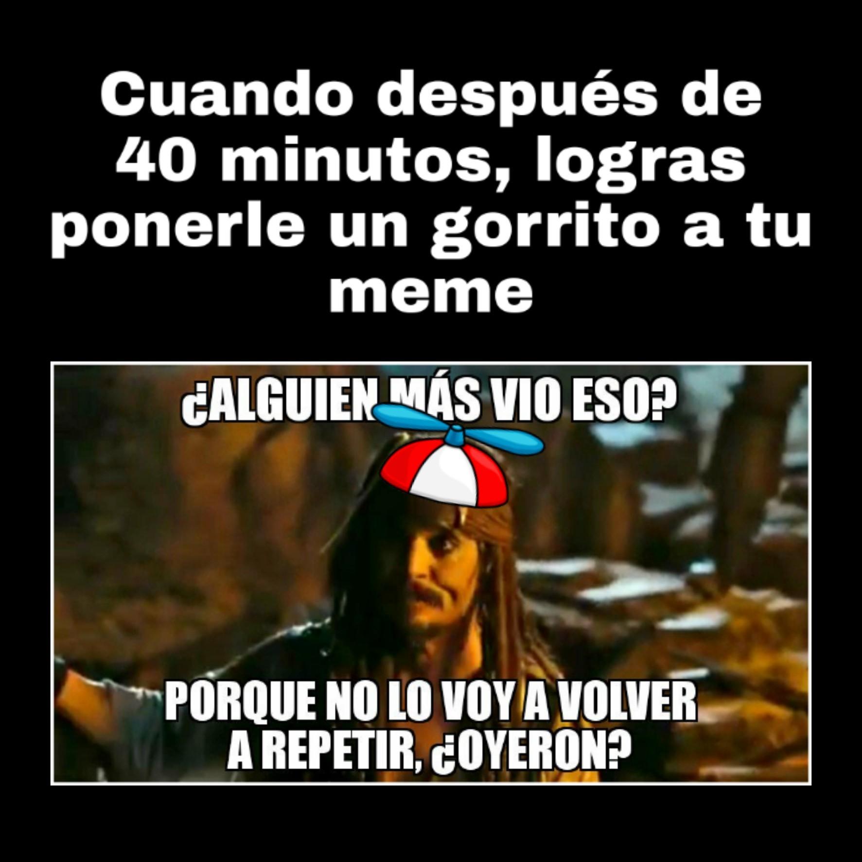 40 minutos - meme