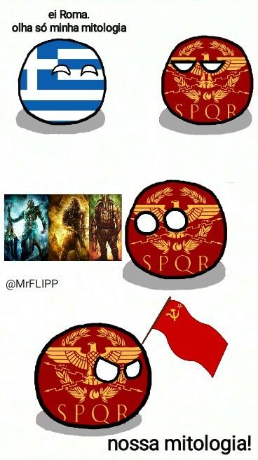 Greco romano - meme