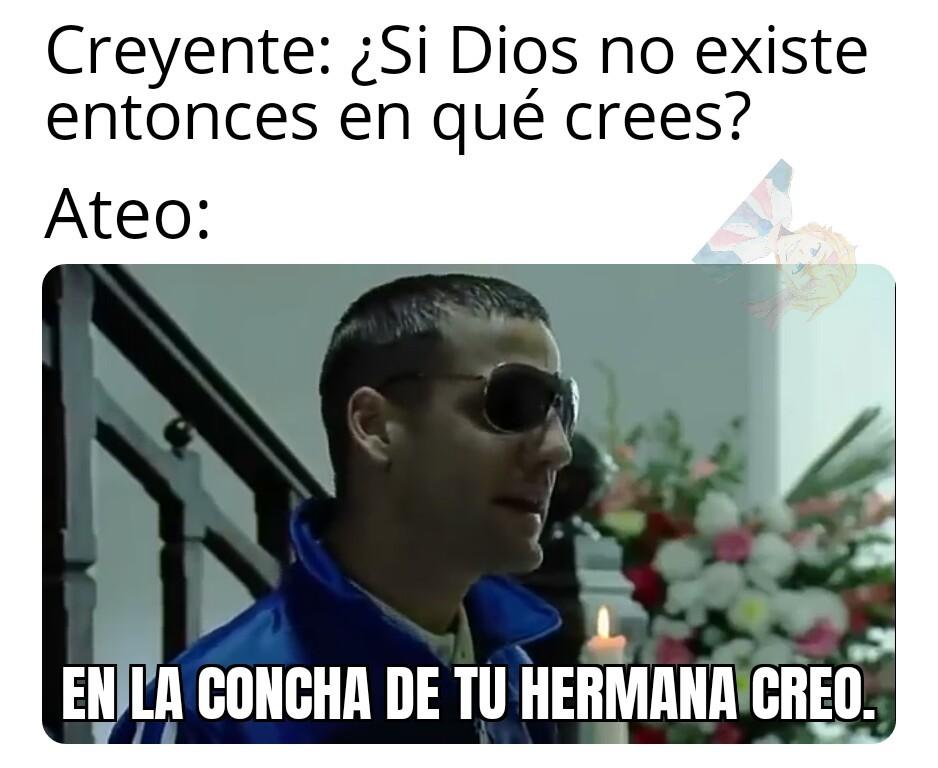 Meme hecho por un religioso