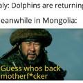 Who has returned to Mongolia?