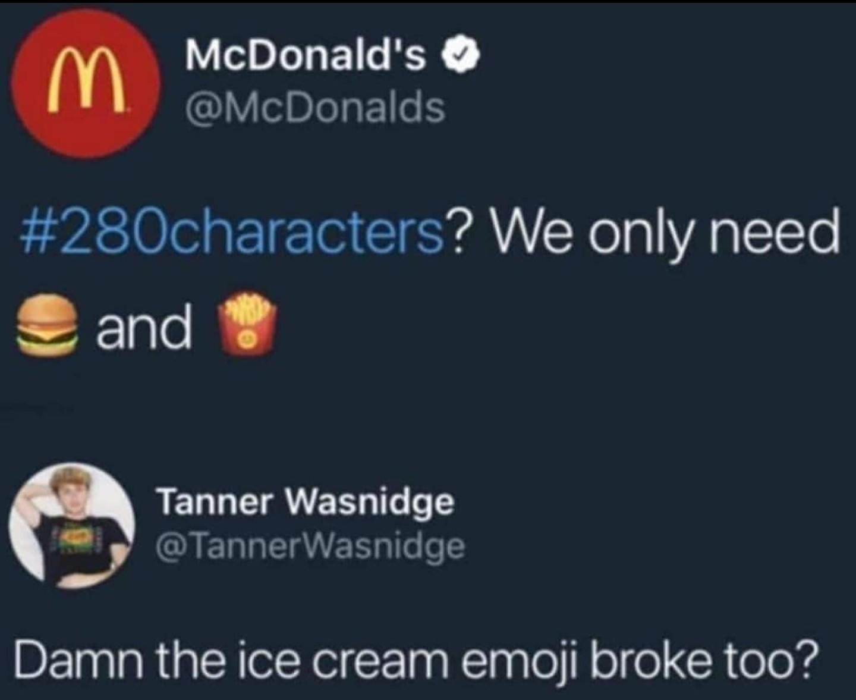 *Insert ice cream emoji* - meme