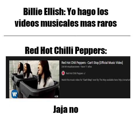 RHCP - meme