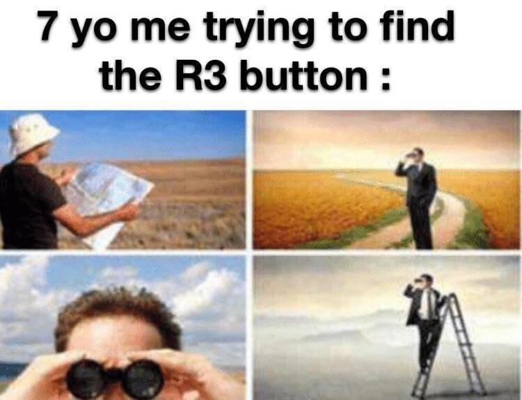 I remember doing this - meme