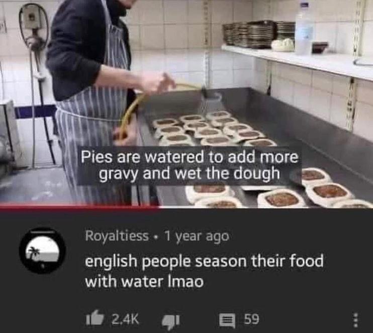 water seasoning - meme
