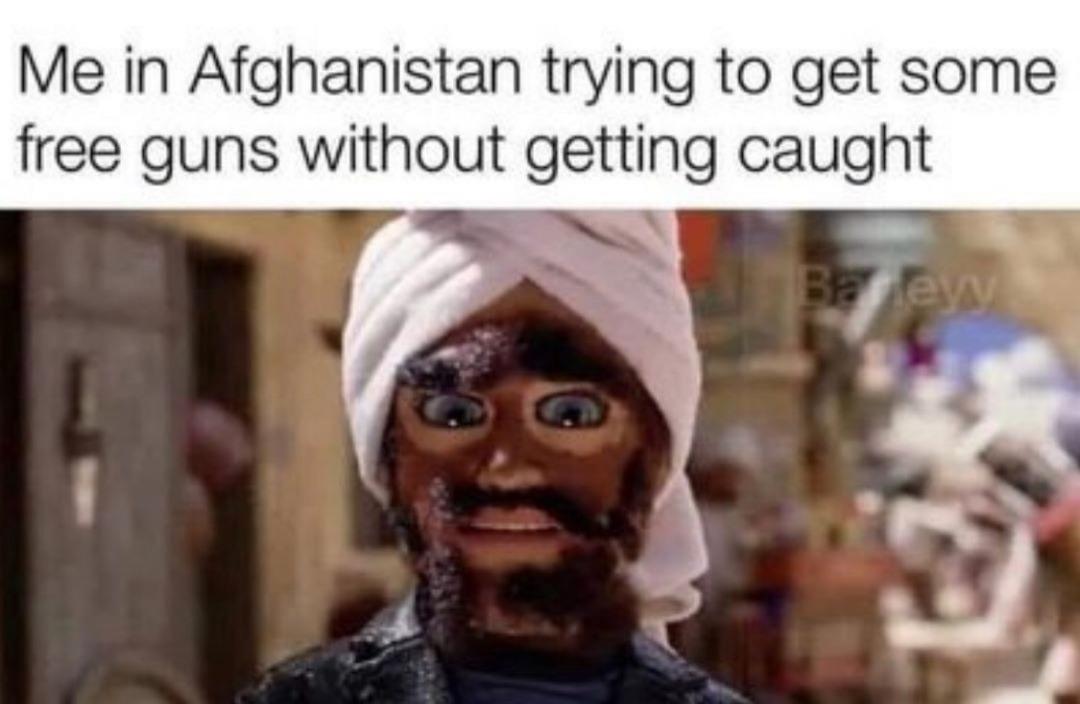 show me where the guns are - meme