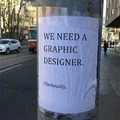 We need a graphic designer