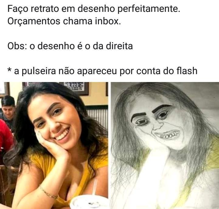 Desenho perfeito - meme