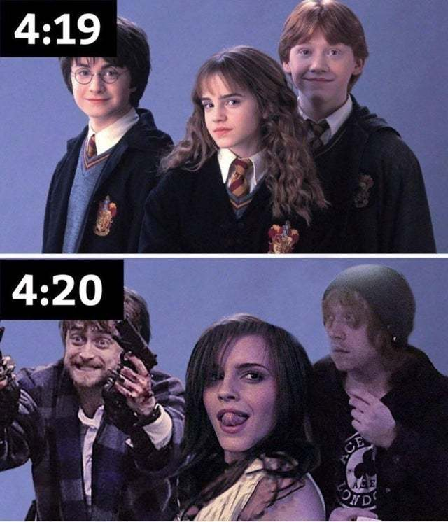 Harry Potter gone wild - meme
