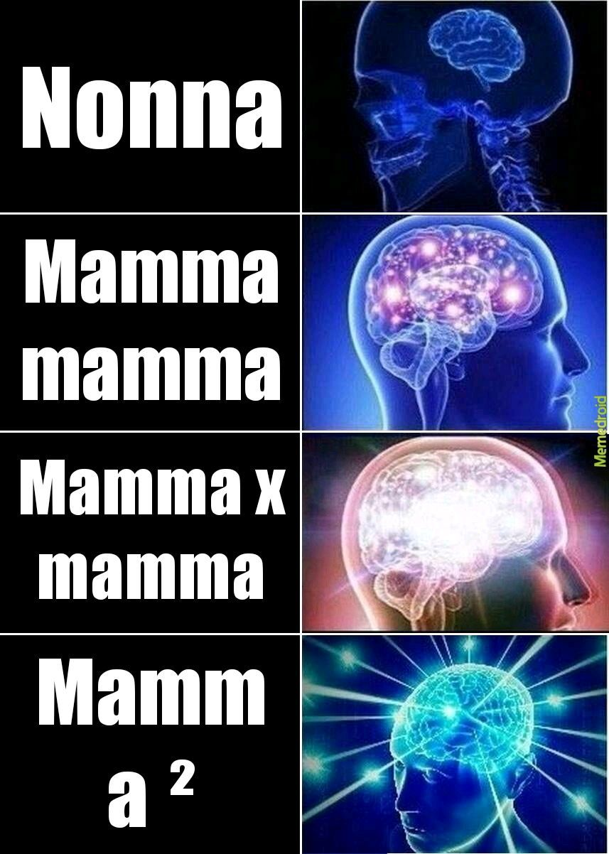 Che mamma mamma - meme