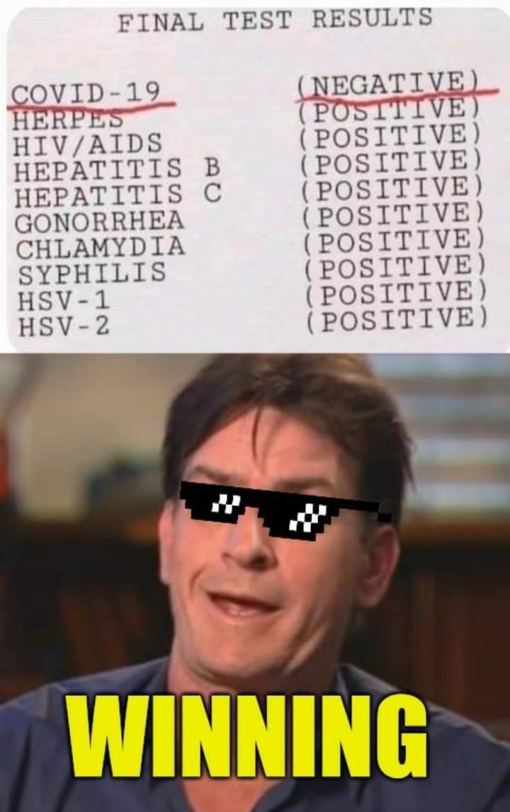 What a positive outlook - meme