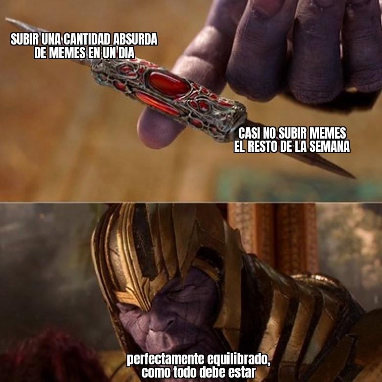 Equilibrado - meme