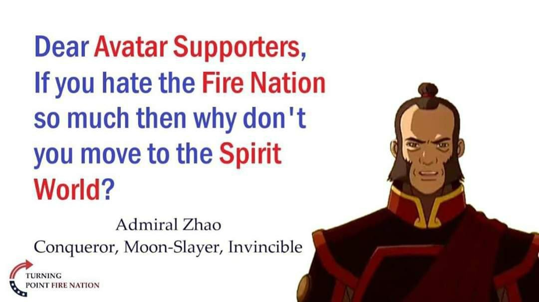 Keep The Fire Nation Great - meme