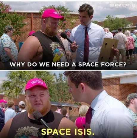 Space is hard - meme