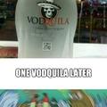 U need a vodquila
