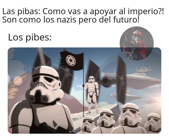 Larga vida al Emperador! Larga vida al Imperio Galáctico! - meme
