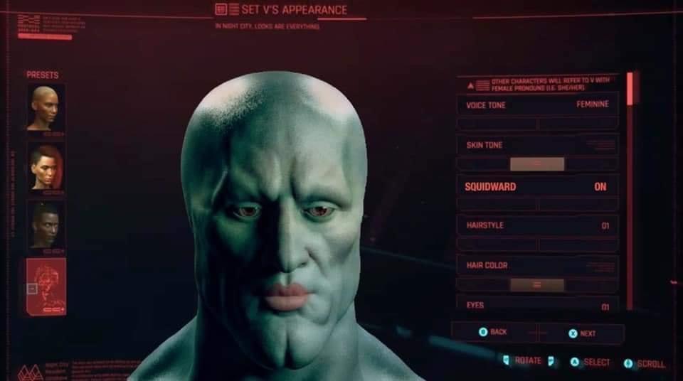 Titulo de Cyberpunk 2077 - meme