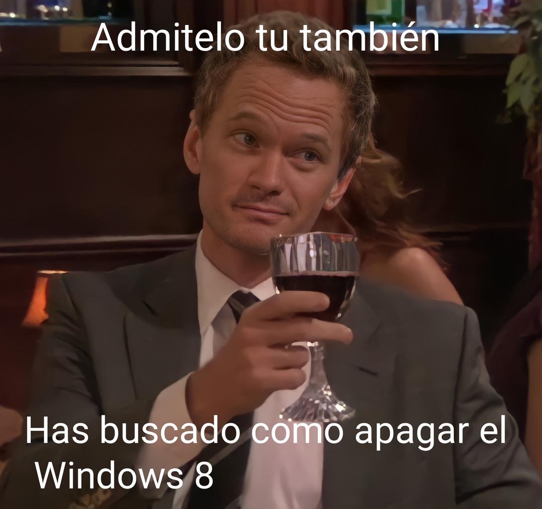 ¿Por qué existe Windows 8.1? - meme