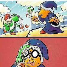 Yoshi abortador - meme