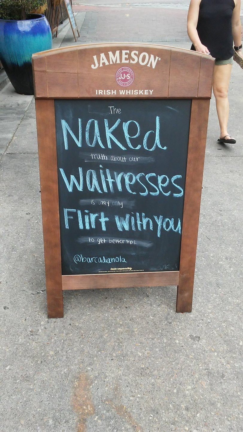 Found in front of a bar in New Orleans. - meme