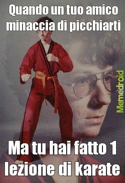 Karate - meme