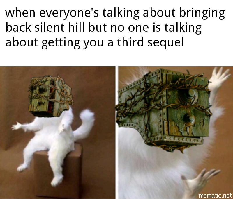 Evil within 3 hopefully soon - meme