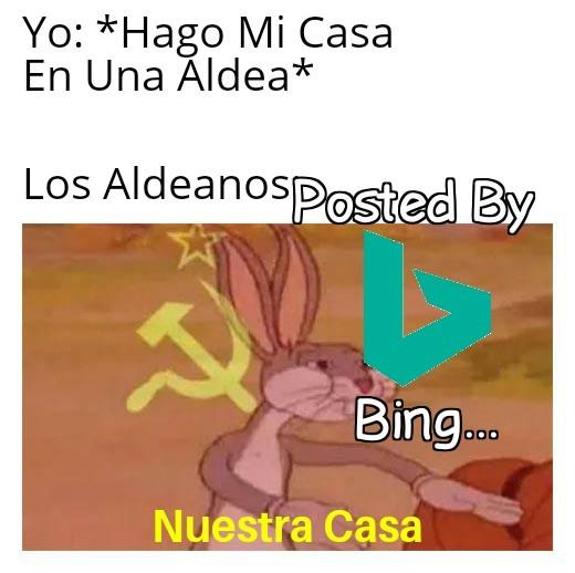 Aldeanos Comunistas - meme