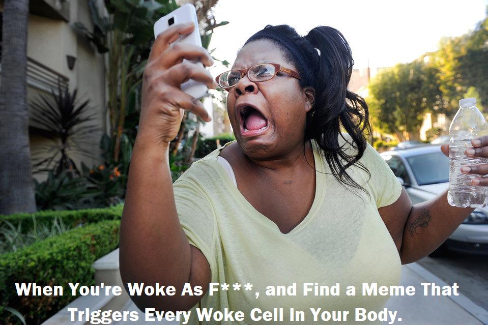 Get Woke Fam - meme