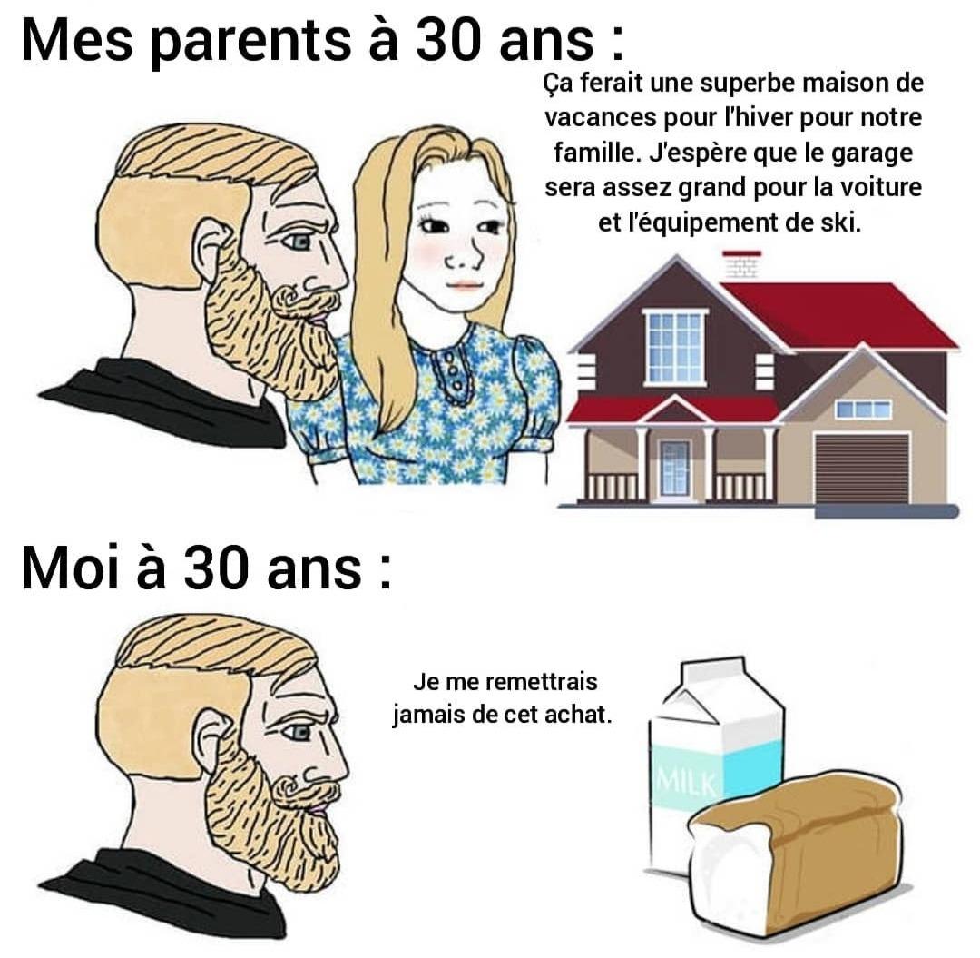 Différences - meme