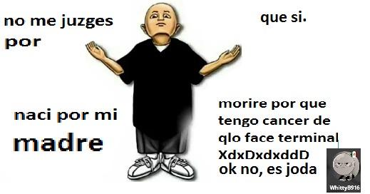 mi originalidad de memes se va por el qlo de santy_haes