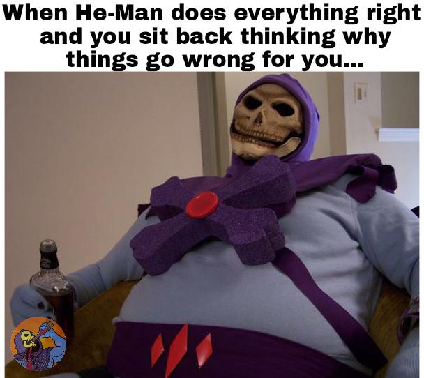 Poor Skelly :(... Myah! - meme