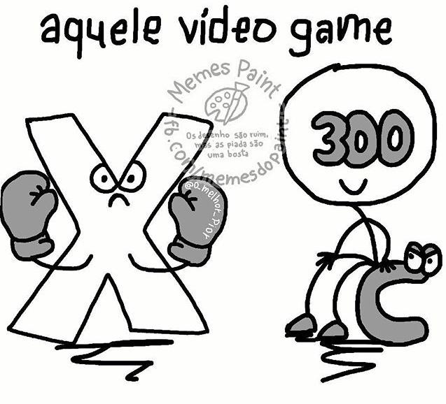 X Box 300 em C senta - meme
