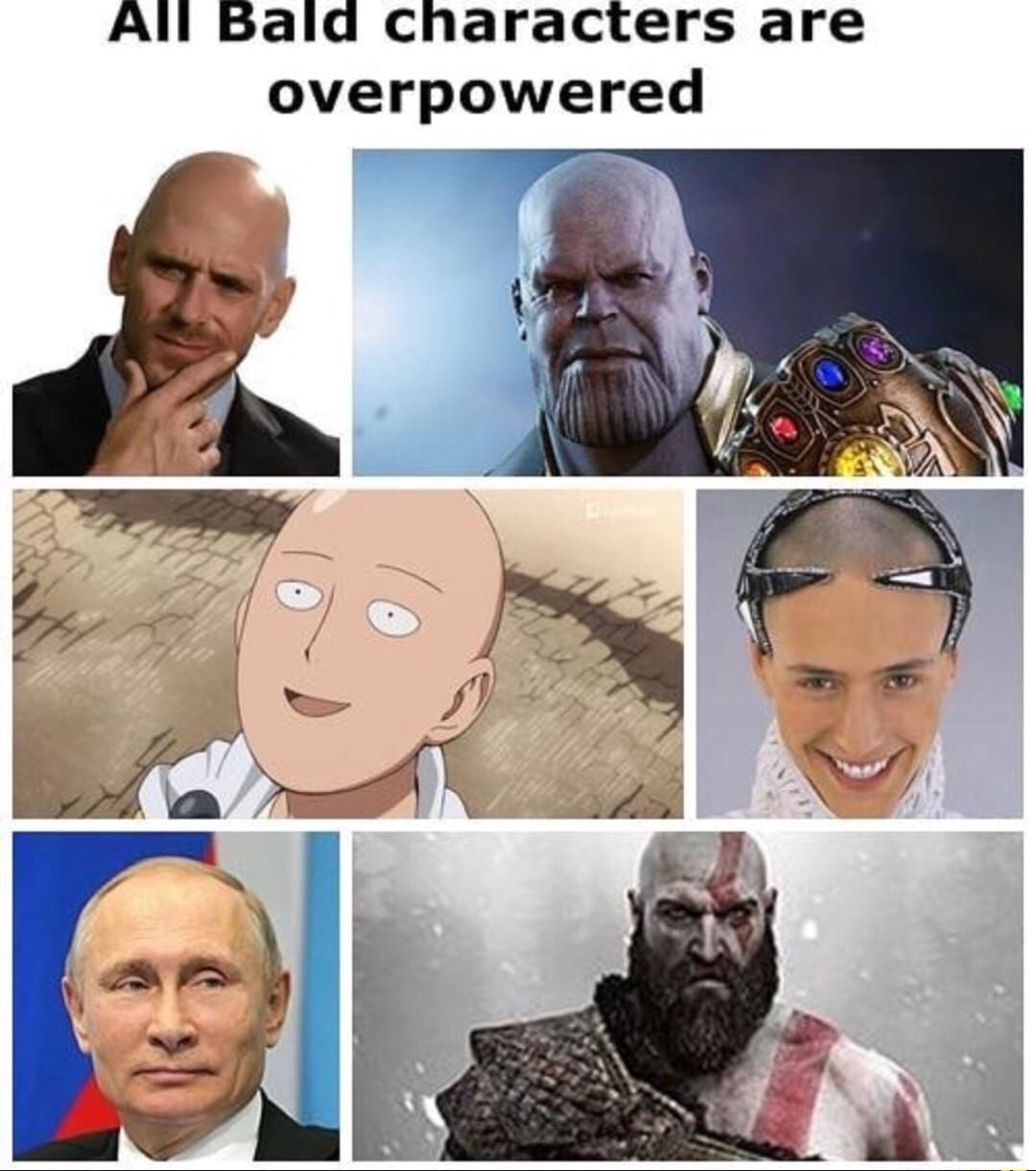 Im bald - meme
