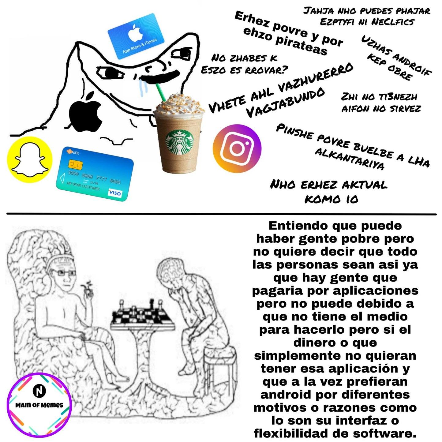 Ooohh shiiit a hipster - meme