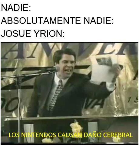 Simplemente Yrion - meme
