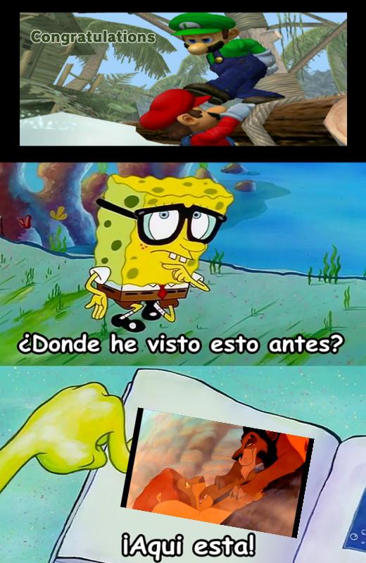 Si,Otro Meme De Smash Bros Con Referencias Al Rey Leon