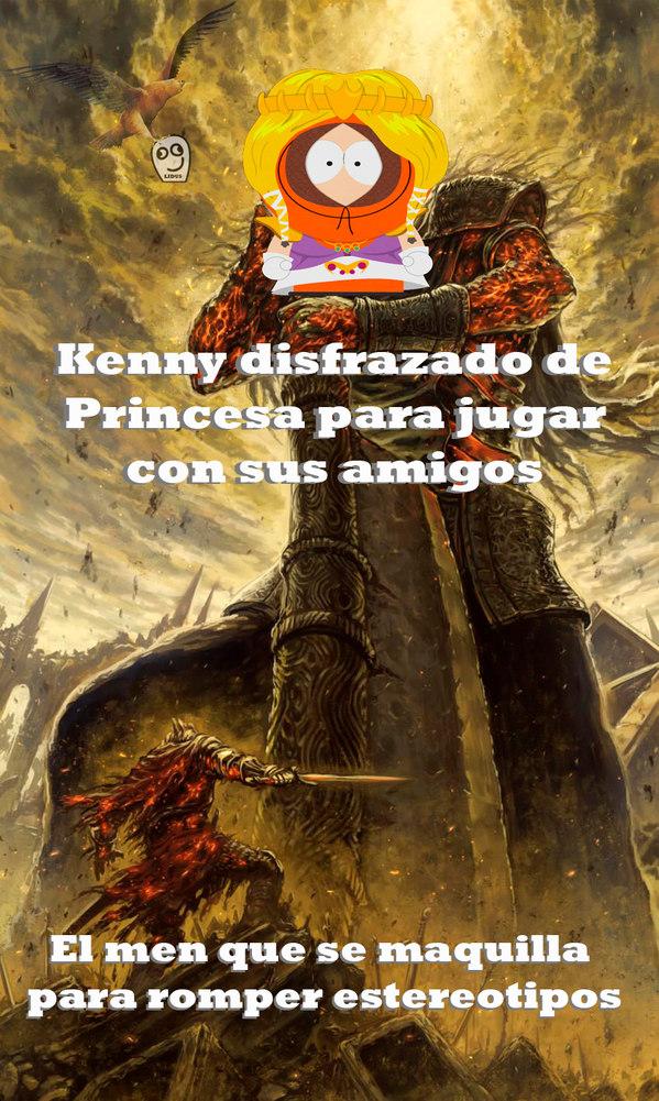 Princesuuuu Kenny - meme