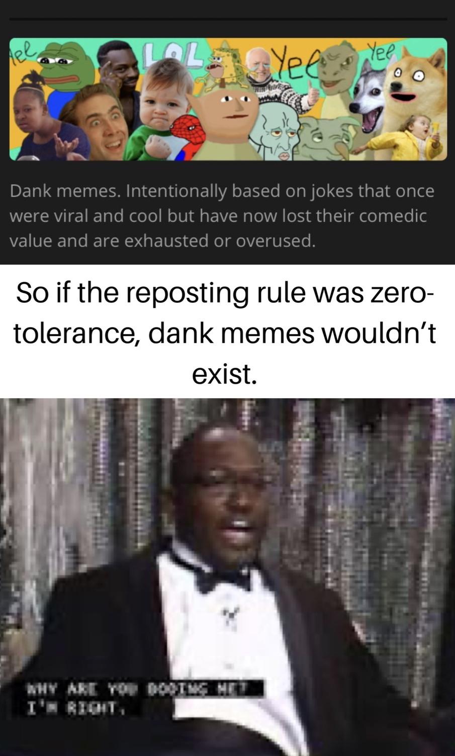 Dank Memes, *poof*