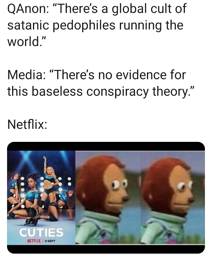 Definitely no evidence at all - meme