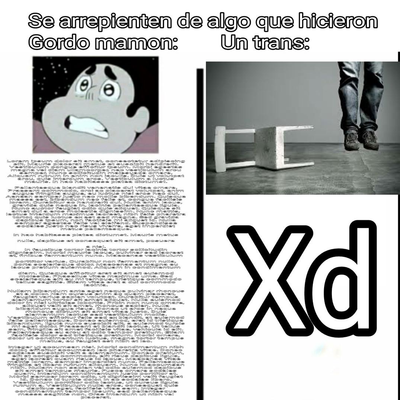 Sobreexplotado este formato xd - meme