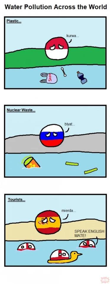 Water Pollution - meme