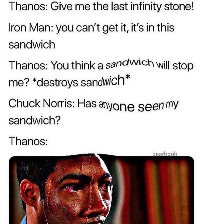 Run thanos - meme